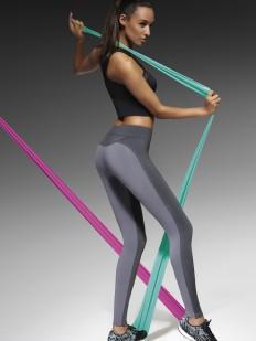 Спортивные женские серые легинсы для фитнеса