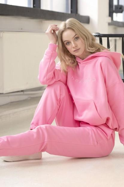 Розовые женские джоггеры Dreskod DK02 23 - фото 1