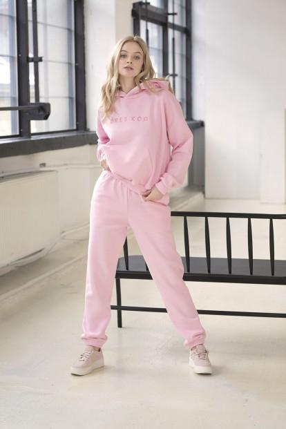 Светло-розовые женские джоггеры Dreskod DK02 22 - фото 1