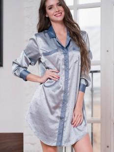 Атласная рубашка Mia-Amore Eliza 8177