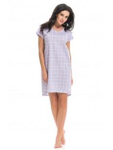 Женская ночная сорочка Doctor Nap Grey Pink