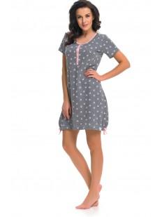 Женская ночная сорочка Doctor Nap Grey-P