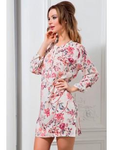 Легкая хлопковая ночная сорочка с цветами Mia-Mella Paradise