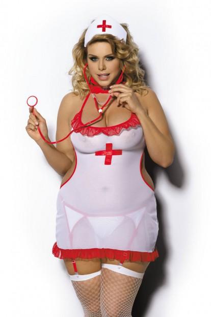 Женский ролевой костюм медсестры Gorgeous+ Shane - фото 1