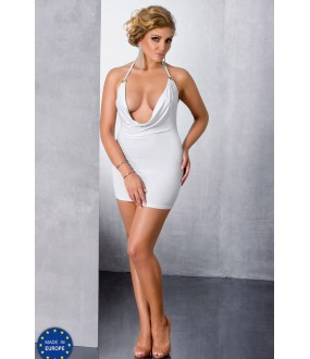 Эротическое платье Passion Miracle Chemise White Size Plus