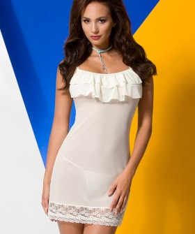 Эротическая сорочка Avanua Ariel chemise ecru