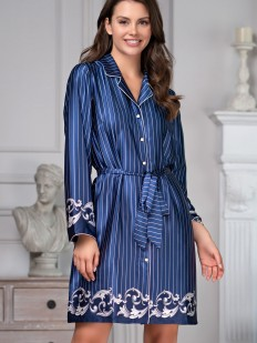 Атласная рубашка Mia-Amore Barocco 8617