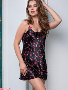 Атласная сорочка Mia-Amore Cherry 8680