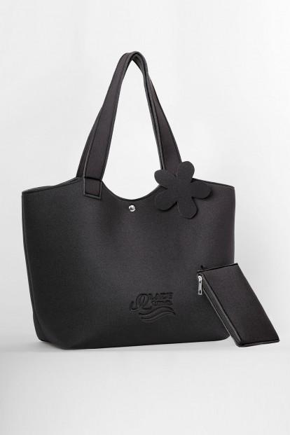 Летняя сумка черная Etna BAG-1 k6 - фото 1