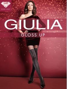 Блестящие колготки с имитацией Giulia GLOSS UP 60 den