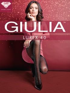 Блестящие колготки Giulia LUREX 40 den