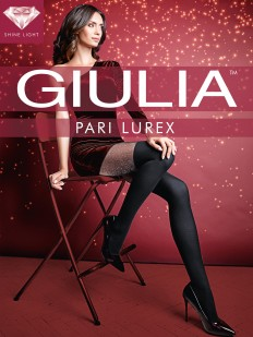 Блестящие колготки с имитацией Giulia PARI LUREX 01