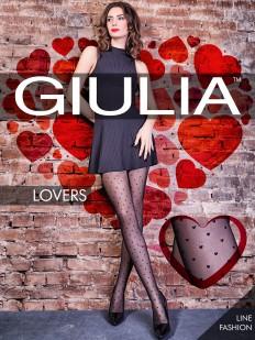 Колготки с сердечками Giulia LOVERS 04