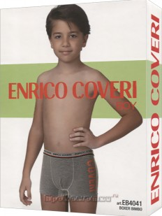Боксеры Enrico Coveri Eb4041 Boy Boxer