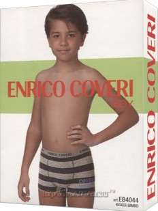 Боксеры Enrico Coveri Eb4044 Boy Boxer