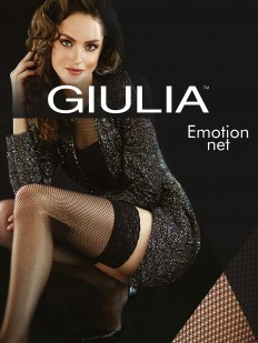 Чулки Giulia Emotion net 40 autoreggente