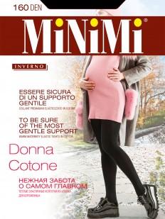 Теплые колготки для беременных Minimi DONNA COTONE 160