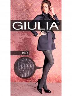 Теплые хлопковые колготки Giulia RIO 150 den