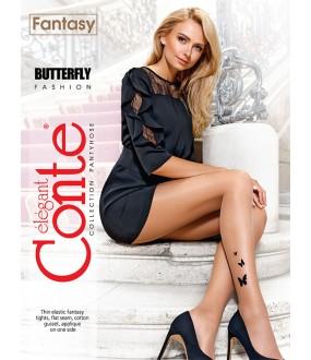 Тонкие колготки Conte elegant Butterfly 20