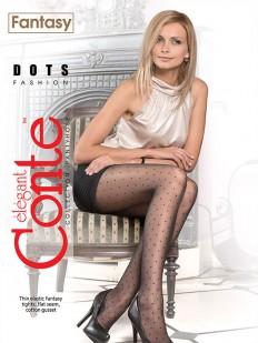 Тонкие колготки Conte elegant Dots 20