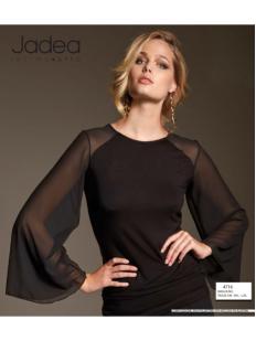 Женская блузка с длинными широкими рукавами