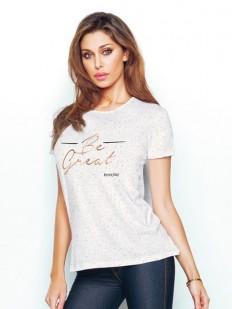 Хлопковая футболка JADEA 4773 t-shirt