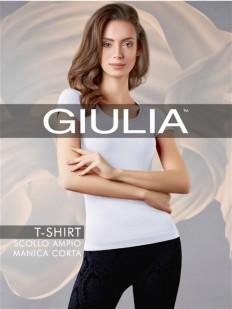 Классическая бесшовная женская футболка из микрофибры