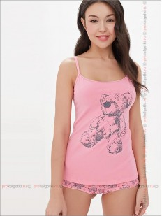 Бельё женское Innamore intimo Imd bears 4151771 top and shorts