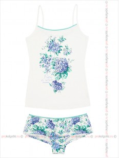 Бельё женское Innamore intimo Imd ortensia 4151781 top and shorts