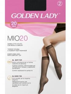 Женские капроновые гольфы Golden Lady MIO 20 (2 пары)