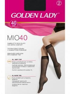 Женские капроновые гольфы Golden Lady MIO 40 (2 пары)