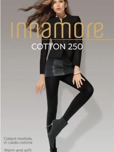 Теплые хлопковые колготки Innamore COTTON 250 XL