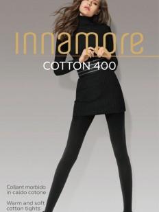 Теплые хлопковые колготки Innamore COTTON 400 XL