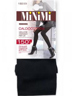Теплые хлопковые колготки Minimi CALDOCOTTON 150