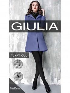 Теплые хлопковые колготки Giulia TERRY 600 den