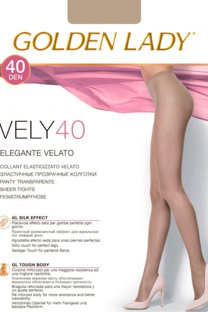 Классические капроновые колготки Golden lady Vely 40