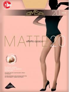 Классические матовые колготки Omsa MATTE 20