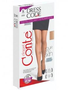 Ультратонкие колготки Conte elegant Dress code 8