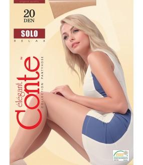 Тонкие колготки Conte elegant Solo 20 xl