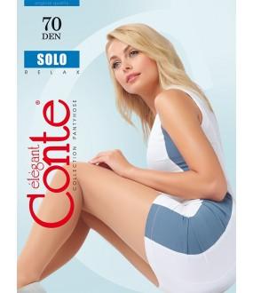 Теплые колготки Conte elegant Solo 70 xl