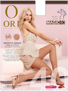 Классические матовые колготки ORI MAGIC 40