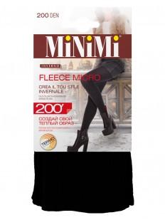 Теплые колготки с флисом Minimi FLEECE MICRO 200