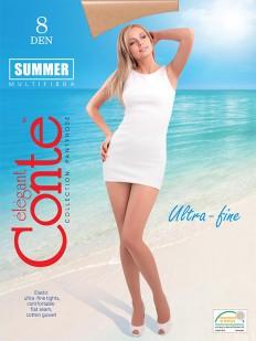 Ультратонкие колготки Conte elegant Summer 8 xl
