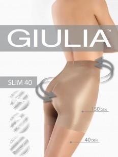 Последний товар!!! Утягивающие колготки с шортиками Giulia SLIM 40