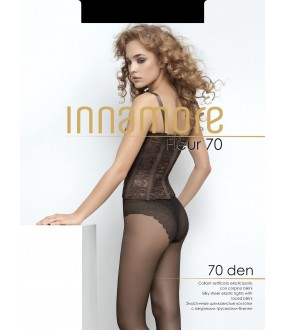 Женские колготки 70 den с имитацией трусиков бикини