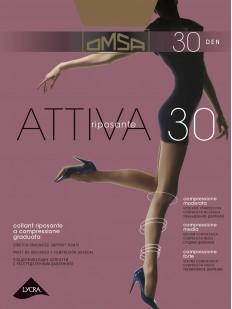 Классические колготки с шортиками Omsa ATTIVA 30
