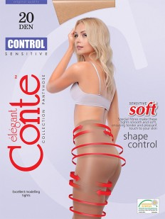 Тонкие колготки Conte elegant Control 20