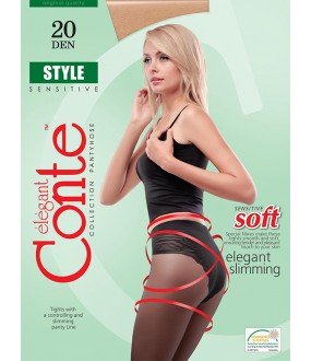 Тонкие колготки Conte elegant Style 20