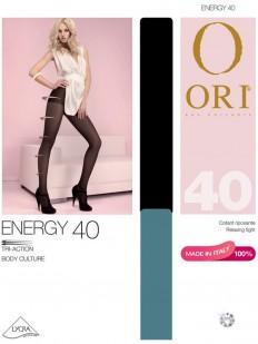 Матовые колготки 40 ден с шортиками и поддерживающим эффектом распределенного давления по ноге