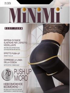 Утягивающие пуш ап колготки Minimi PUSH UP micro 70